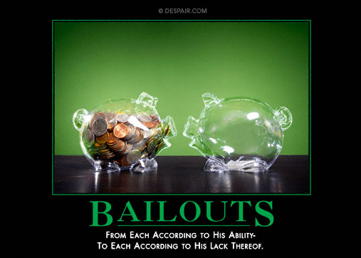 Bailouts Poster