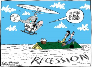 Recession Is Over