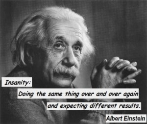 Einstein Insanity 1