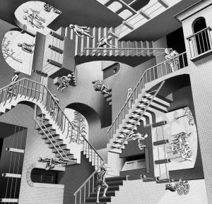 Escher Relativity 3D