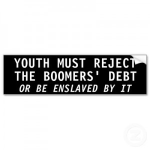 Reject Boomer Debt