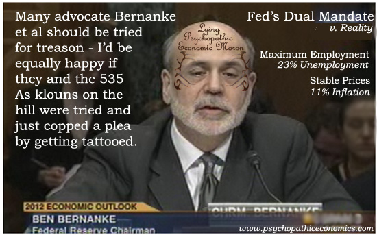Bernanke Lie Tattoo
