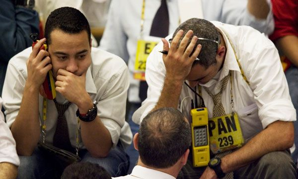 Sad Traders