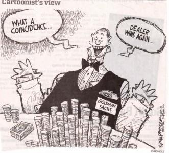 Goldman Wins Again