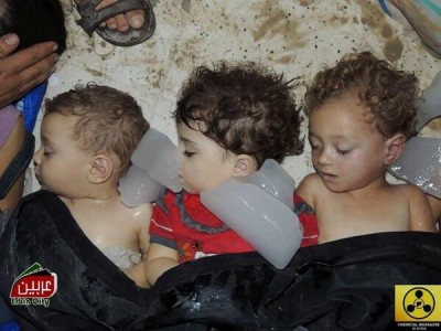 Children Gassed in Syria