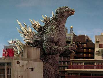 Godzilla Stomps Tokyo