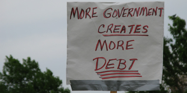 More govt more debt - susan e adams flickr - banner