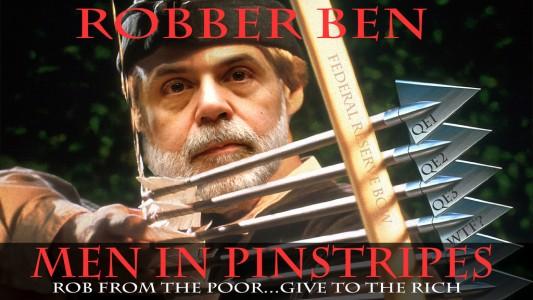 Robber Ben Bernanke