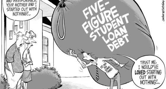 St. Louis Fed Spills The Beans On College