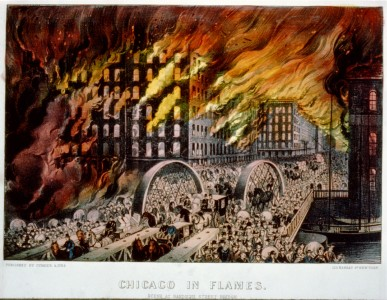 Chicago-in-Flames-Currier-Ives