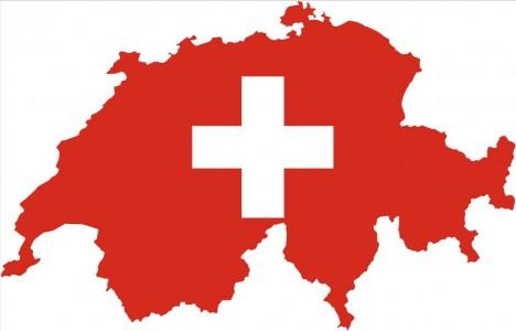 Flag-Map-Switzerland