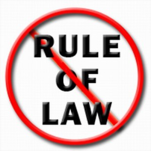 No Rule of Law