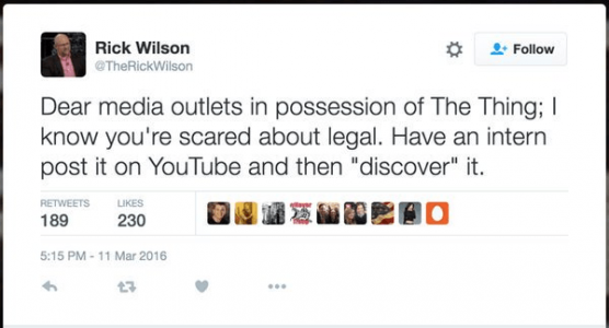 Rick Wilson Cruz Tweet