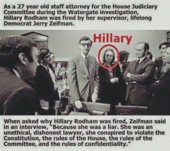 Hillary Liar Watergate