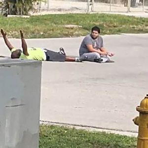 Unarmed Man in MIami 2