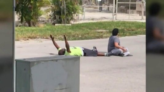 Unarmed Man in Miami